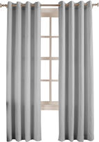 Asstd National Brand No. 918 Oasis Crushed Microfiber Grommet-Top Curtain Panel
