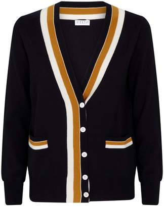 Claudie Pierlot Contrast Stripe Cardigan