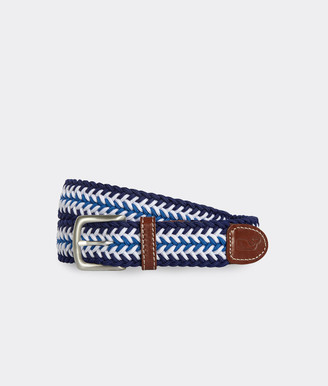 Vineyard Vines Striped Bungee Belt