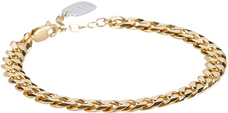 ela rae Large Curb Chain Bracelet