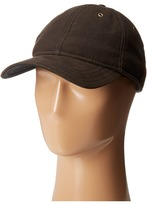 Woolrich Waxed Cotton Ball Cap with Sherpa Lining