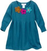 Mimi & Maggie Triple Flower Sweater Dress (Toddler, Little Girls, & Big Girls)