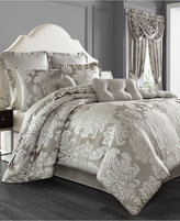 "J Queen New York Chandelier 20"" Square Decorative Pillow"