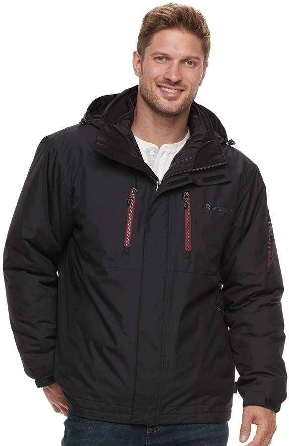 Van Heusen Men's Never Tuck Slim-Fit Fleece Quarter-Zip Sweater