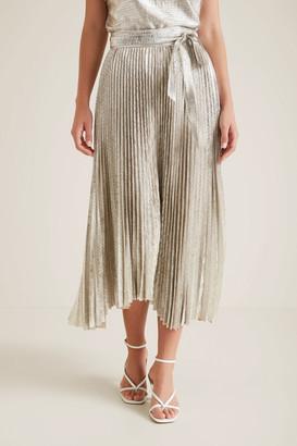 Seed Heritage Metallic Stepped Skirt