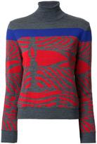Kolor turtleneck jumper - women - Wool - 2