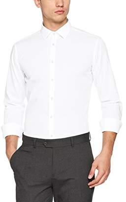Seidensticker Men's Dress Shirt Formal Shirt Business Shirt Extra Slim Fit Extra Long Sleeve Collar Kent Non-Iron