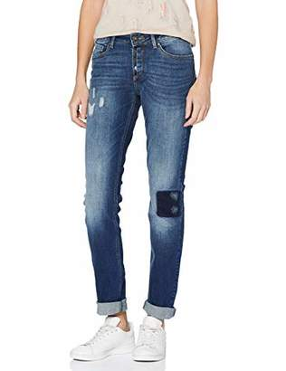 H.I.S Women's Monroe Skinny Jeans (Close-Fitting Leg),27W/33L