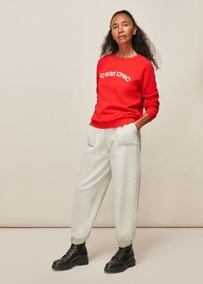 Cest Chic Logo Sweatshirt