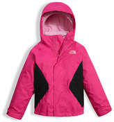 The North Face Girls' Kira Triclimate Waterproof Jacket, Pink, Size 2-4T