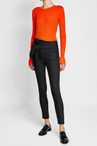 IRO Skinny Cotton Pants with Knotted Accent