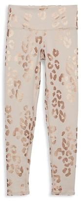 Spiritual Gangster Girl's Leopard-Print Leggings