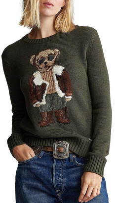Polo Ralph Lauren Aviator Polo Bear Sweater