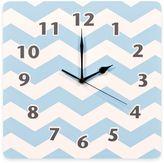 Trend Lab Blue Sky Chevron Wall Clock