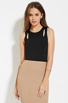 Forever 21 FOREVER 21+ Contemporary Cutout Tank