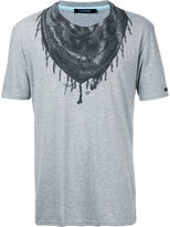 GUILD PRIME bandana neck print T-shirt - men - Cotton - 1