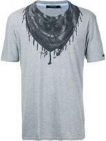 GUILD PRIME bandana neck print T-shirt