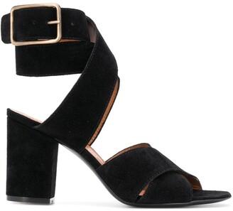 Via Roma 15 Block Heel Strappy Sandals