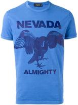 DSQUARED2 Nevada Almighty eagle T-shirt