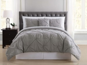 Truly Soft Arrow Pleated Full Bed in a Bag Bedding