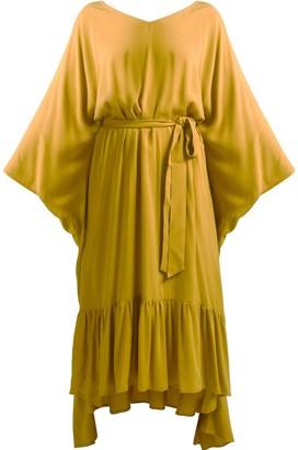 Gisy Earth Mustard Kaftan Dress