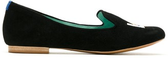 Blue Bird Shoes Prisma suede loafers