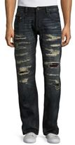 Cult of Individuality Hagen Relaxed Distressed Jeans