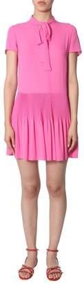 RED Valentino Bow Detail Mini Dress