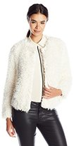 Sanctuary Women's Unreal Faux Fur Jacket