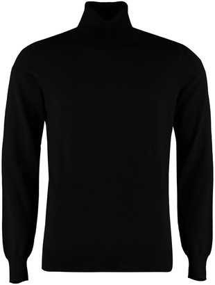 Paolo Pecora Long-sleeve Wool Turtleneck