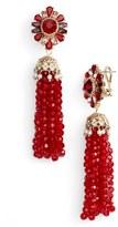 Marchesa Women's Tassel Drop Earrings