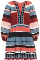 Ulla Johnson Mika striped cotton minidress