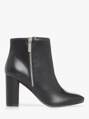 Head Over Heels Orionn Zip Ankle Boots, Black