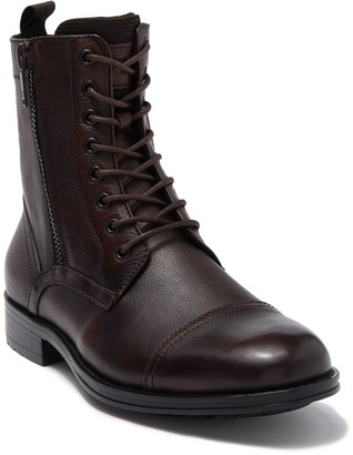 Kenneth Cole New York Side Zip Leather Boot