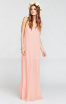 MUMU Jolie Maxi Dress ~ Frosty Pink