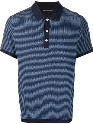 Michael Kors Contrast Trimmed Polo Shirt