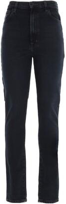 J Brand 1212 Runway High-Rise Slim Straight Jeans