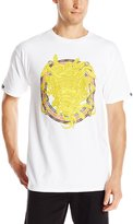 Crooks & Castles Men's Knit Crew T-Shirt - Mountaineer Medusa