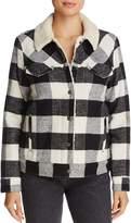 Levi's Ex-Boyfriend Plaid Trucker Jacket