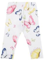 MonnaLisa Butterfly Print Jersey Leggings