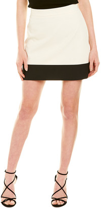 Milly Jen Banded Micro Mini Skirt