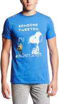 Hybrid Men's Peanuts Tweeted Short Sleeve Tee