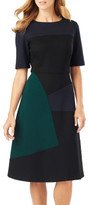 Phase Eight Rosie A-Line Colour Block Dress