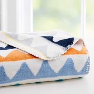 west elm Triangle Train Baby Blanket