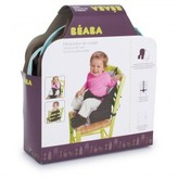 Beaba Green Trim Travel Booster Seat