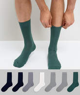 Asos Socks With Extended Sizing 7 Pack