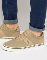 Polo Ralph Lauren Hanford Chambray Trainers