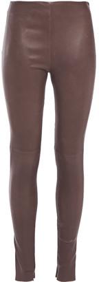 Balenciaga Stretch-leather Skinny Pants