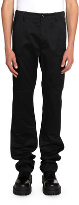 Balenciaga Men's Cotton Twill Cargo Pants