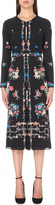 Vilshenko Jerry floral-print silk dress